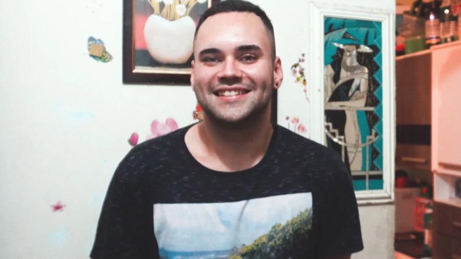 Daniel de Carvalho, um dos jovens bolsistas da Somos CIEE na FESPSP